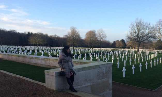 Paying My Respects at the Cambridge American Cemetery