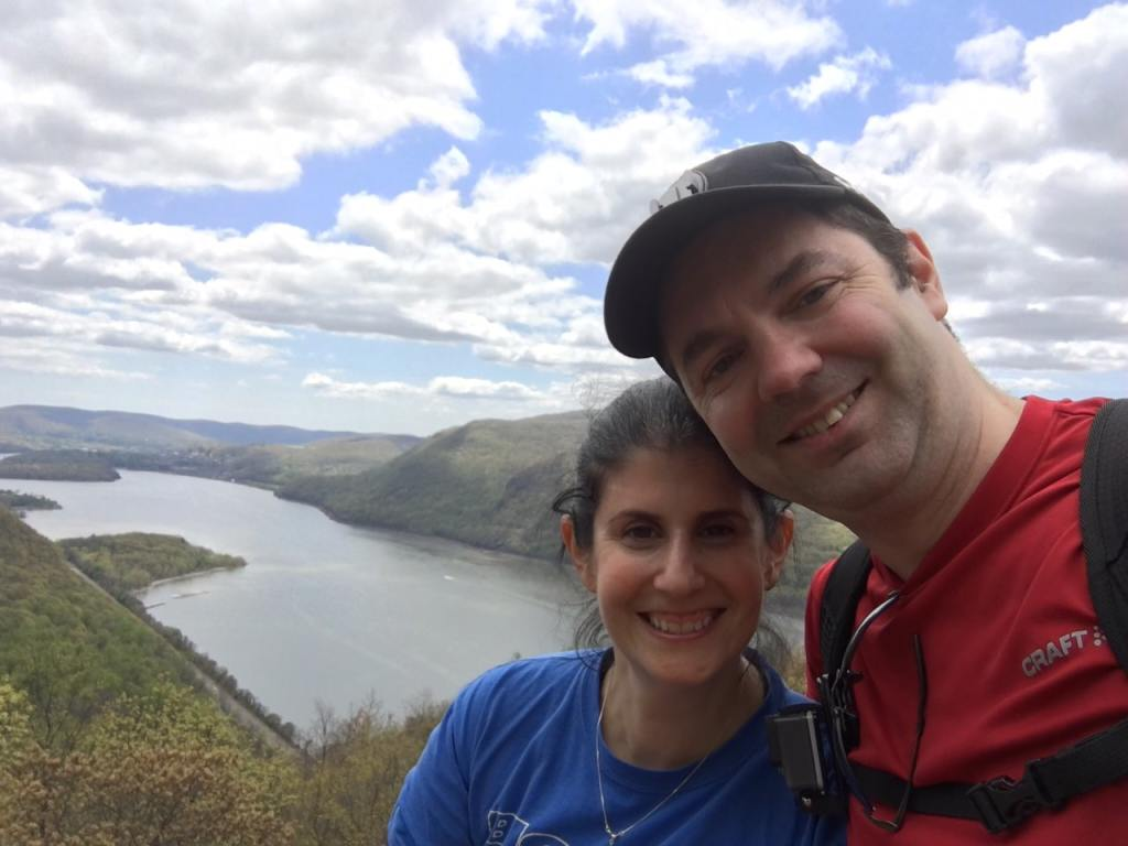 """Obligatory selfie! We were so lucky to have perfect weather. The sky was so beautiful. - """"Breakneck Ridge Lives Up To Its Name"""" - Two Traveling Texans - Breakneck Ridge Photos"""