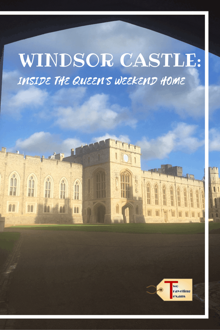 Find out why you must visit Windsor Castle, an easy day trip from London. The architecture, art, and history make it a must visit.#windsorcastle #daytripfromlondon #windsorengland #royalfamily