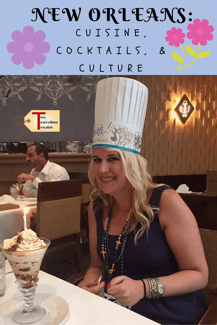 A travel blog that provides ideas of things you can do for a fun day in New Orleans - some amazing cuisine, cocktails, and culture.