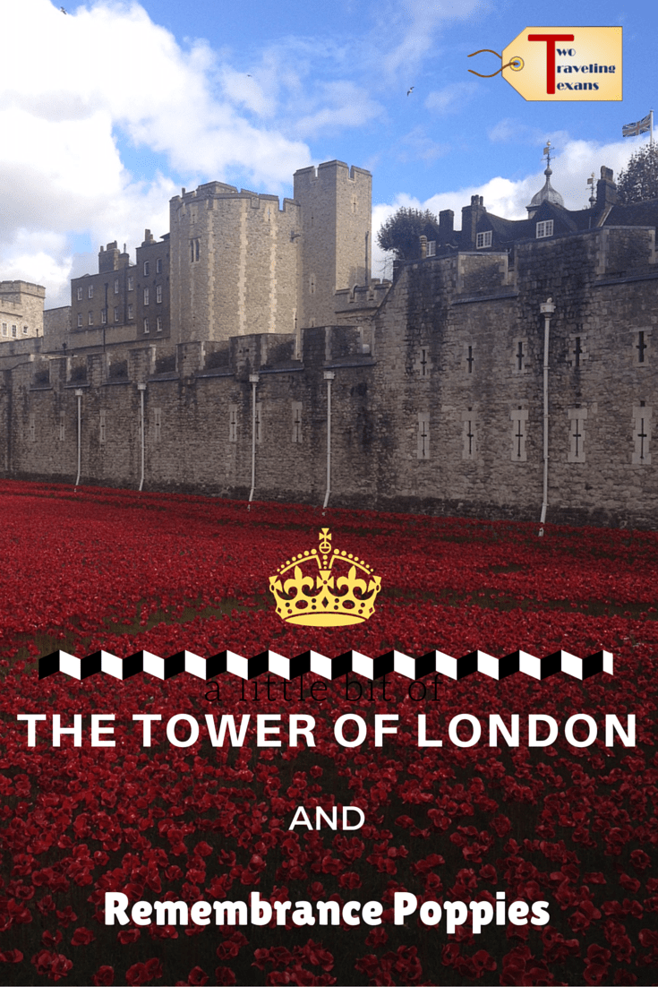 A travel blog about the Tower of London including highlights of what to see and a look back at the poppies art installation from 2014.