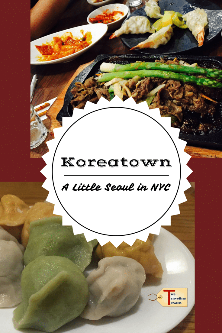 A travel blog that provides ideas on how to spend an evening in the Koreatown neighborhood in NYC - good food and karaoke.