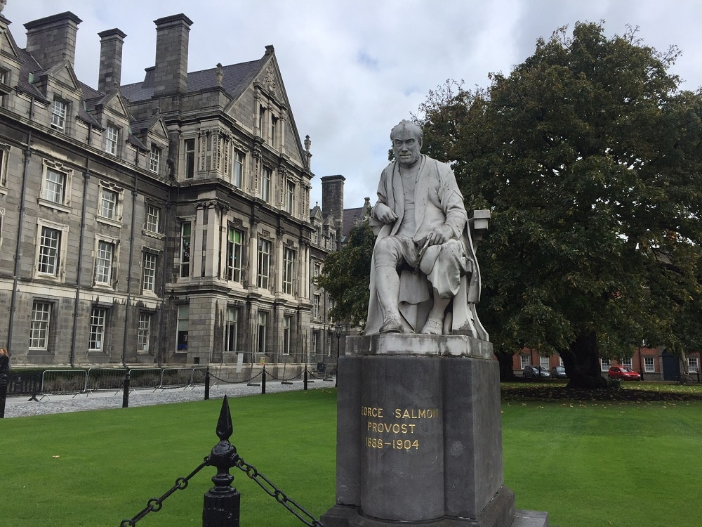 """Trinity College Dublin Images. - """" The Book of Kells - A Medieval Treasure"""" - Two Traveling Texans"""