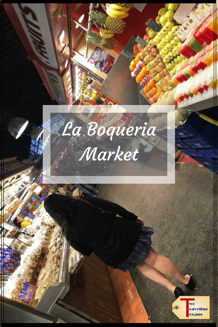 Preview the delicious food you will find at La Boqueria Market in Barcelona, Spain and get helpful tips for your visit. #laboqueriamarket #spain #barcelonaspain #spanishfood #thingstodoinbarcelona | La Boqueria Market Barcelona | La Boqueria Barcelona Food | Barcelona Market | Barcelona La Boqueria Food | Barcelona Spain Market | La Boqueria Barcelona Tapas | La Boqueria Food Market | La Boqueria Fish | La Boqueria Juice | La Boqueria Spain | La Boqueria Tapas