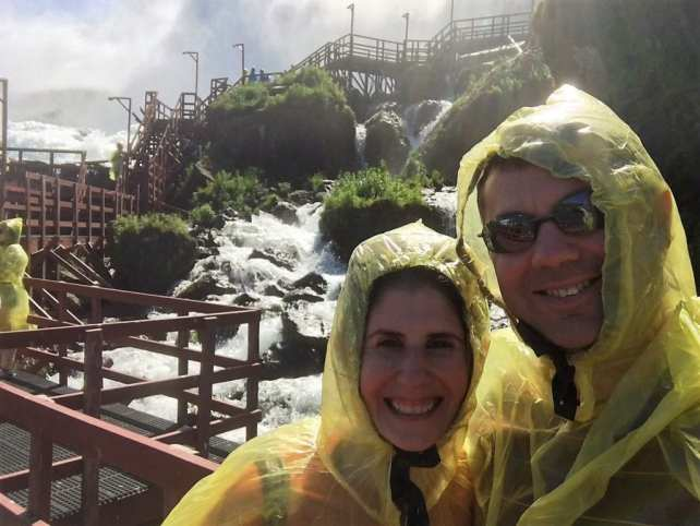 """Obligatory Selfie at the Cave of the Winds. - """"Cave of the Winds: Niagara Falls Closeup"""" - Two Traveling Texans"""