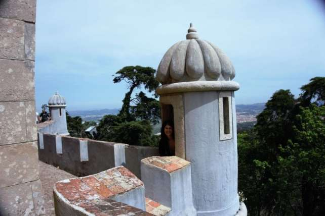 """It would be a great place to play hide and go seek! - - """"Pena Palace: Sintra's Fairytale Castle"""" - Two Traveling Texans"""