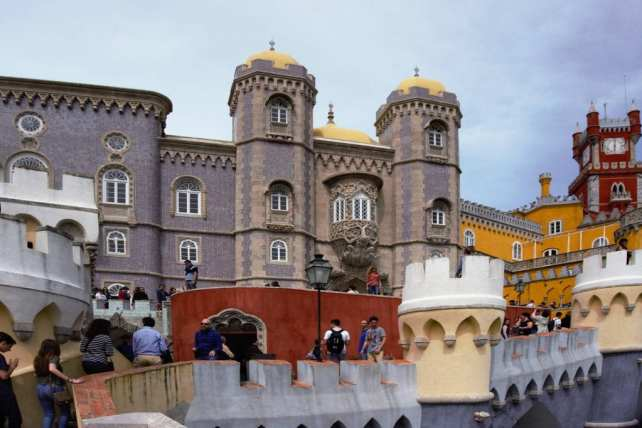 """So many intricate details make the palace really special. - - """"Pena Palace: Sintra's Fairytale Castle"""" - Two Traveling Texans"""