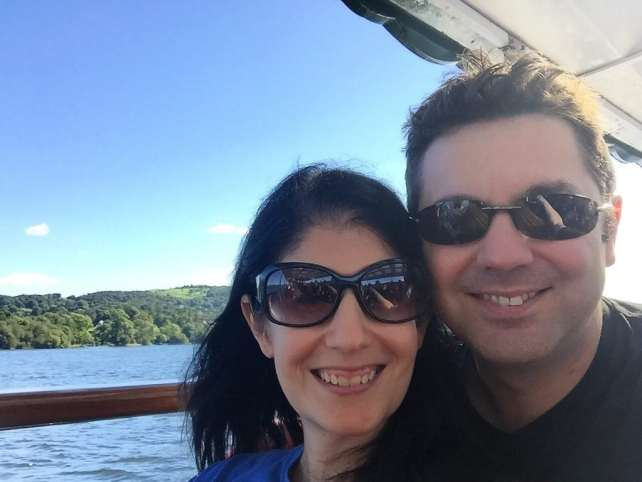 """Anisa and Russell in the Lake District in England - """"Moving To England: How and Why I Did It!"""" - Two Traveling Texans"""