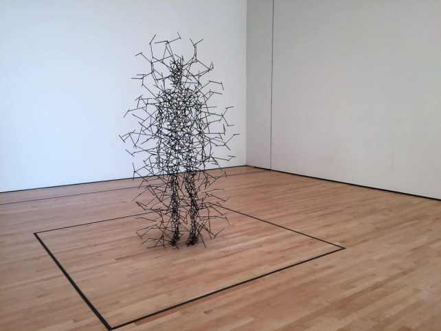 """""""Quantum Cloud VII"""" by Antony Gormley - """"SFMOMA: Modern Art in a New Setting"""" - Two Traveling Texans"""