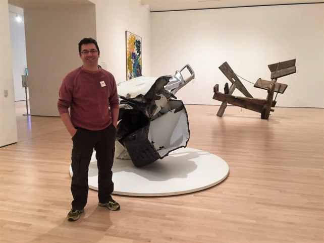 Russell at SFMOMA