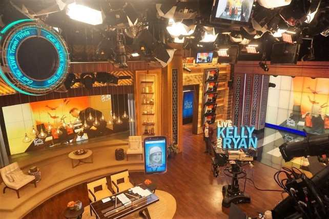 "Watching the set while waiting for Live to start taping. - - ""How to See TV Tapings in NYC With 1iota Tickets"" - Two Traveling Texans"