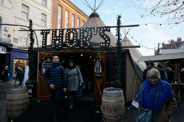 """Thor's Tipi was probably my favorite thing at York's Christmas Market. - """"St. Nicholas Fair York Christmas Market Guide"""" - Two Traveling Texans"""