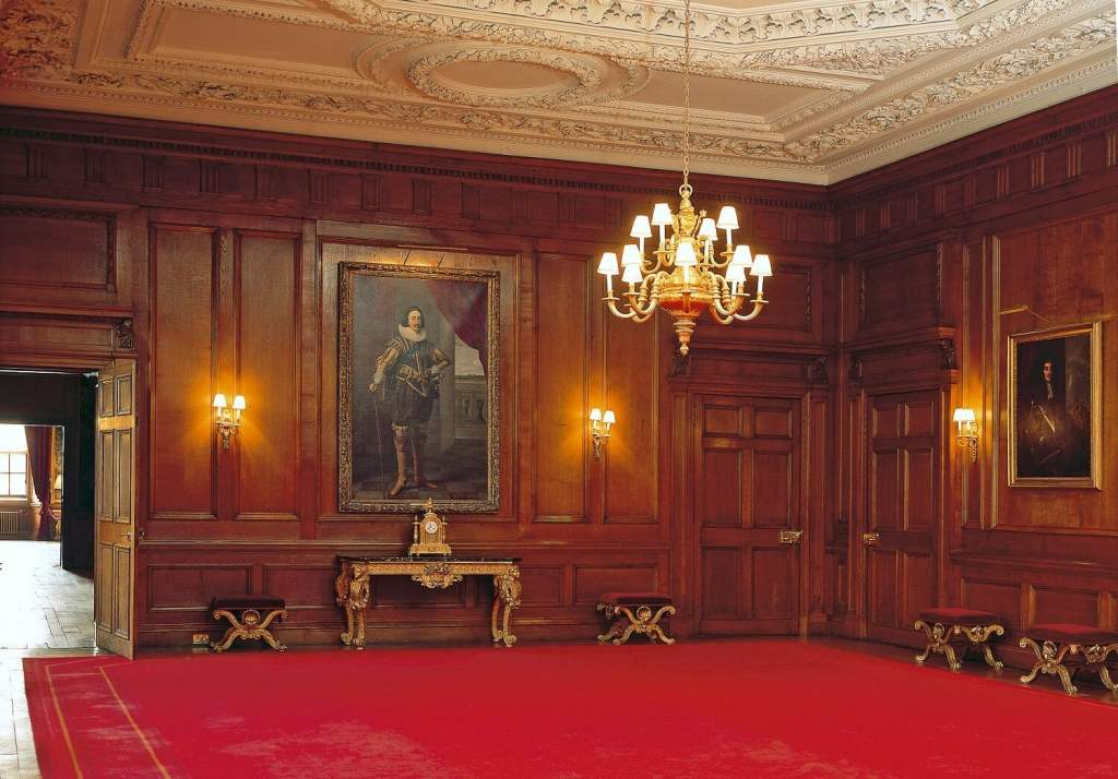 The Throne Room has some impressive portraits in addition to the thrones. - Image Credit: Royal Collection Trust / © Her Majesty Queen Elizabeth II 2018 - Inside Holyrood Palace - Two Traveling Texans