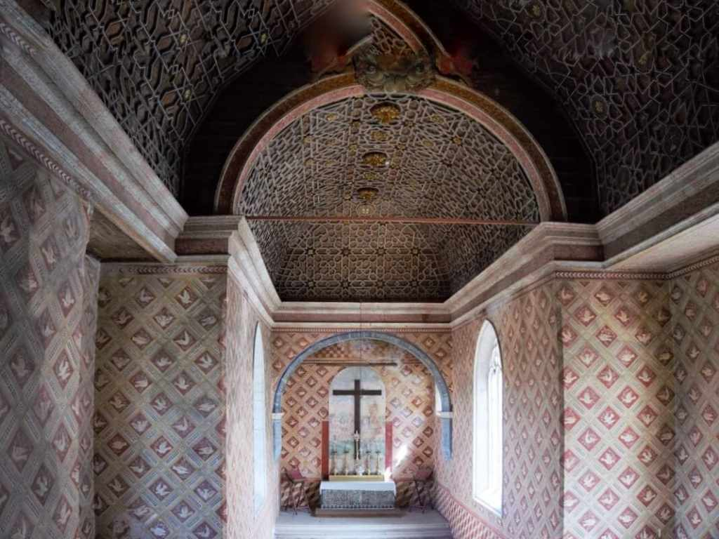 The chapel is one of the oldest rooms in the Town Palace. -