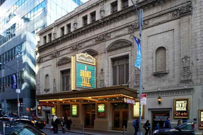 "This theater gets its name from the original name of Times Square. ""Inside Broadway Tour: Discover NYC's Theater District"" - Two Traveling Texans"