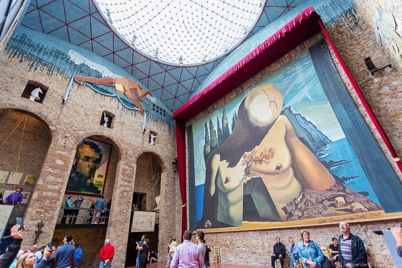The Dali Theatre and Museum is the main attraction in Figueres, but there are a few other places you should visit too.
