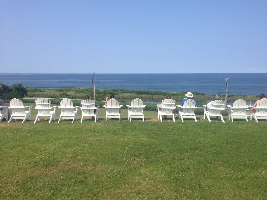 """Perfect spot to relax and take in the views! - """"Block Island Ferry and Travel Guide"""" - Two Traveling Texans"""
