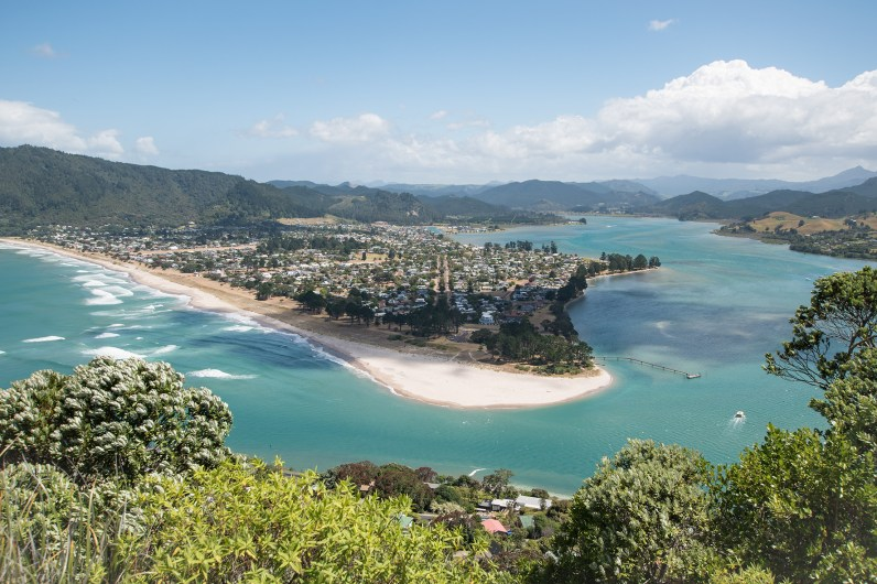 View over Pauanui