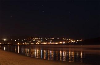 Whitianga at night
