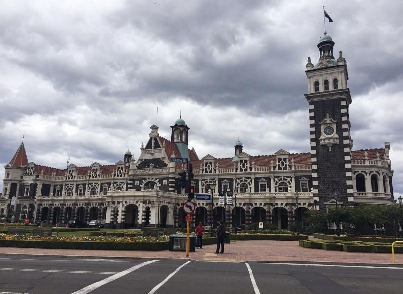 Dunedins Railstation