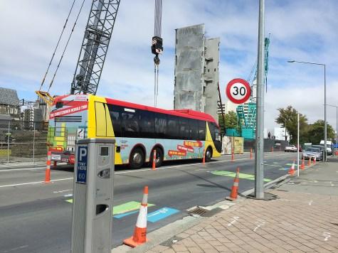 """You can do the """"Rebuild Tour"""" through Christchurch"""