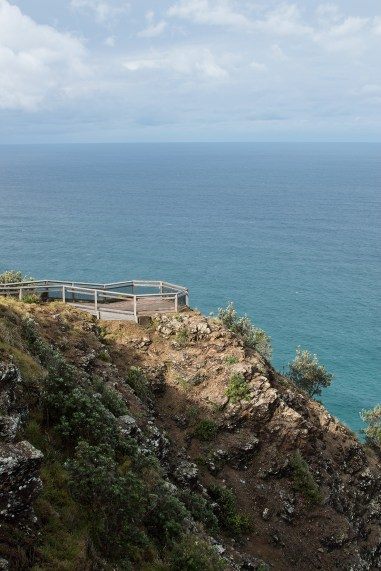 A few meters behind the Lighthouse is the most easterly point of Australian Mainland