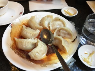 "delicious dumplings at ""Hu Tong"""