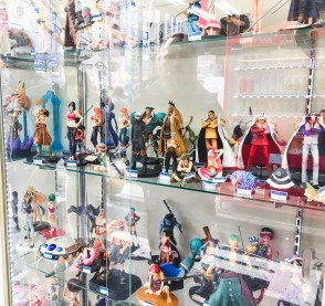 Got a favorite Manga? You can buy the characters in Akihabara