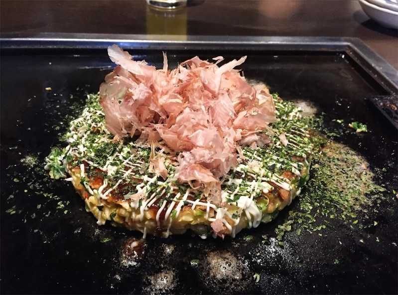 The perfect Okonomiyaki