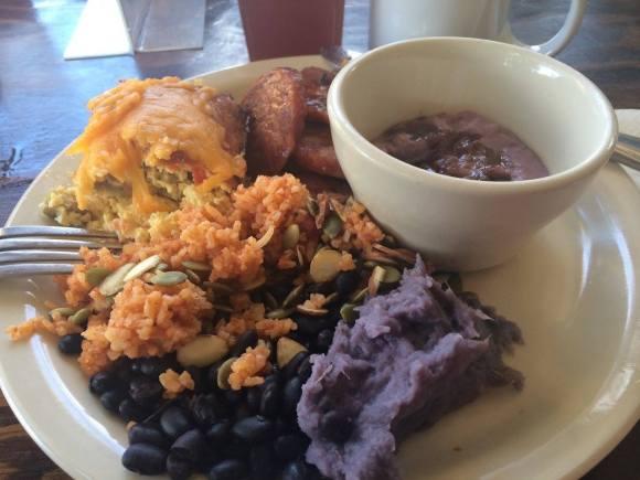 Purple yam breakfast