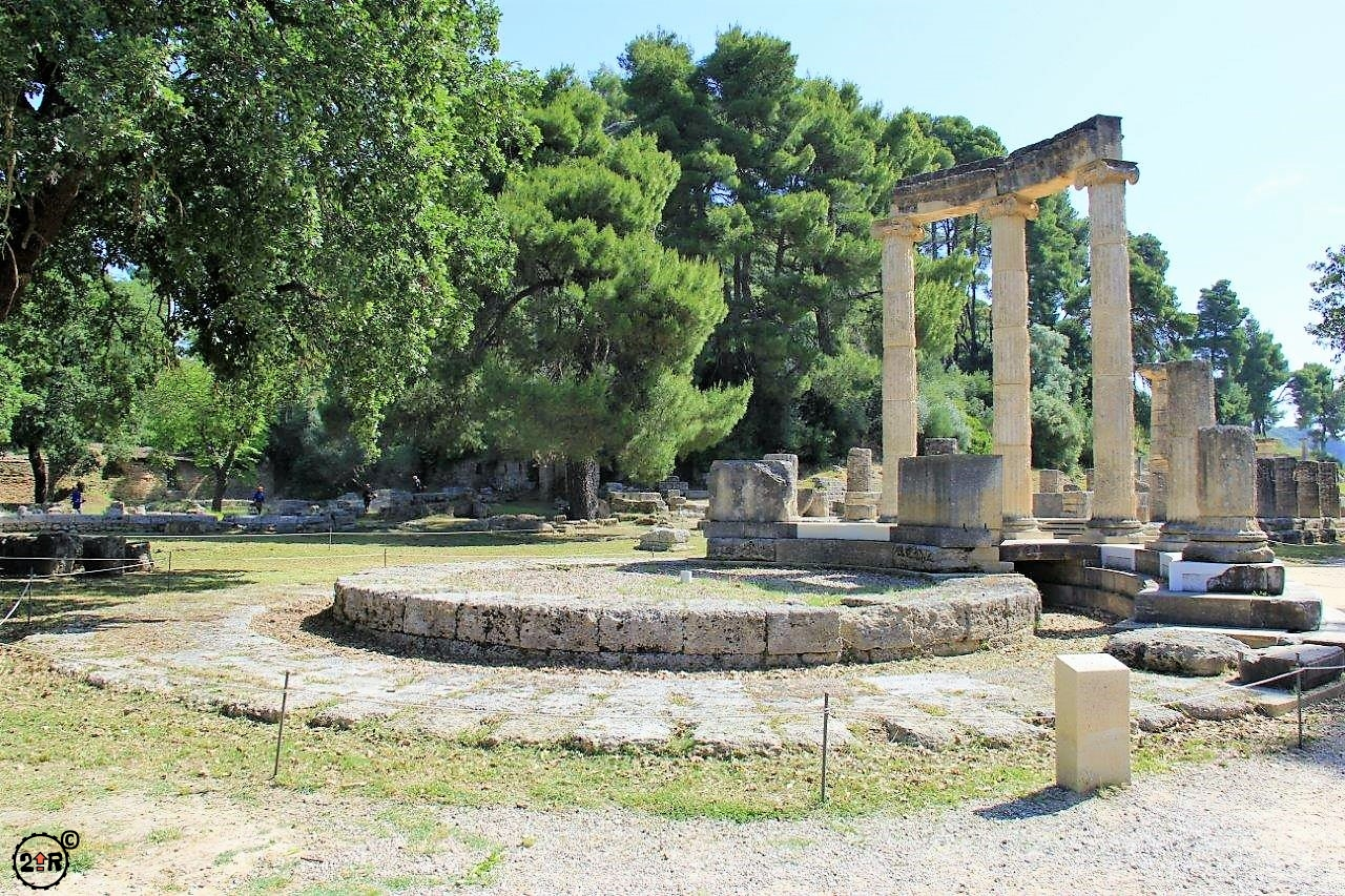 On Your Mark Get Set Go Olympia Greece