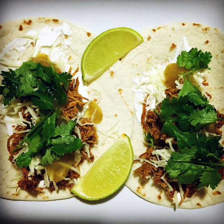 Jeremiah Heise's carnitas-style turkey makes a terrific, tasty turkey taco.