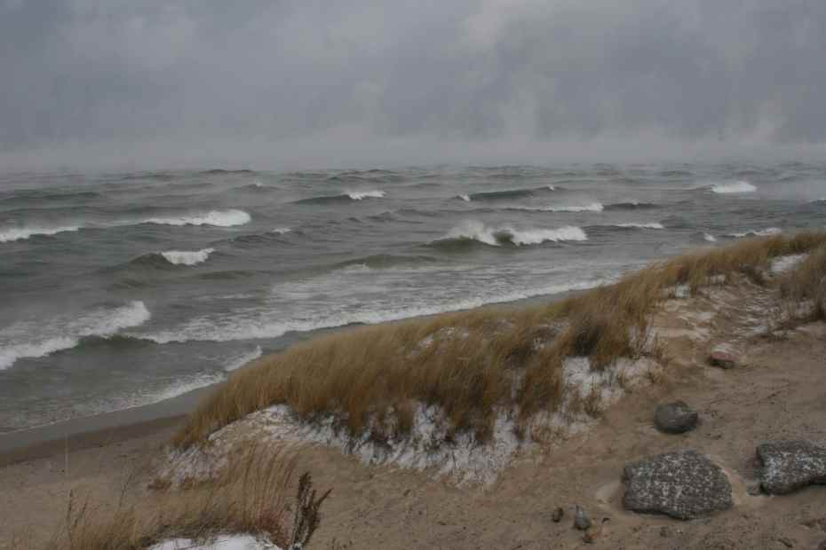 Indiana Dunes Winter
