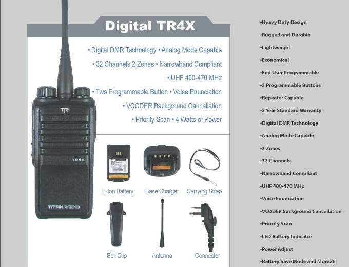 DIGITAL TR4X