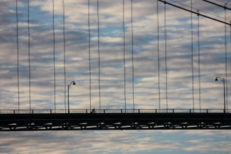Solitude on Lions Gate Bridge