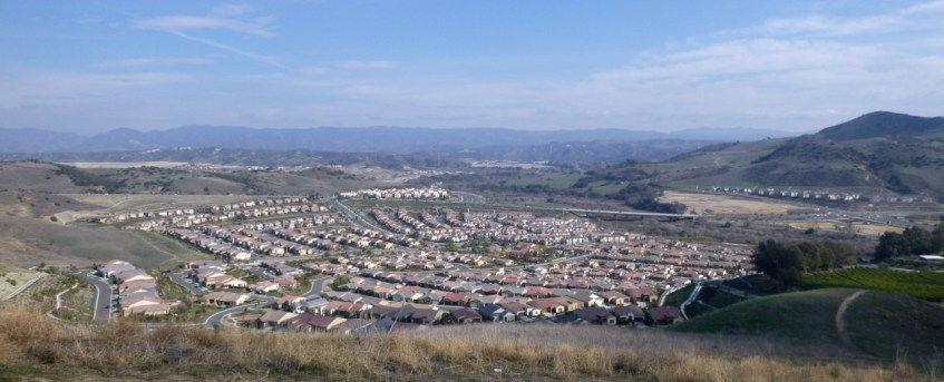 A good look at Sendero and other development taking place in Rancho Mission Viejo