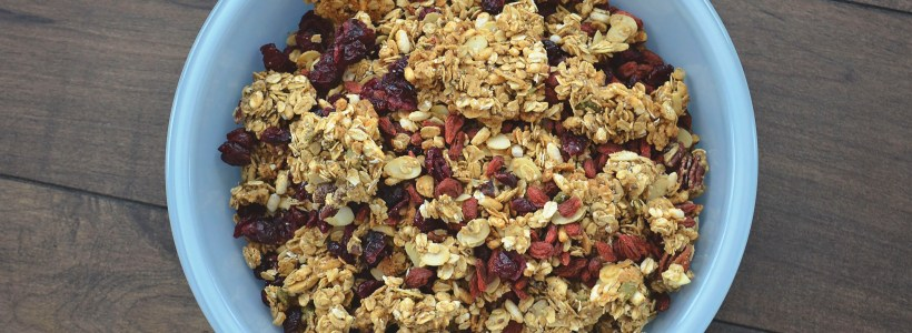 Quick and Easy Nutty Granola