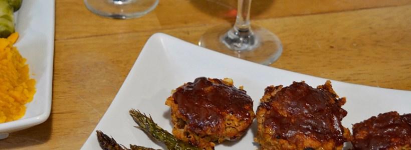 Easy, Healthy Weeknight Meal: Turkey Meatloaf Muffins