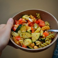 Meditterean Vibes: Healthy ​Pasta Salad