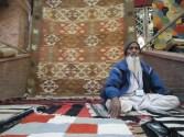 Shakeel Ahmad Ansari, a Panja Dhurrie artisan from Mirzapur, UP.