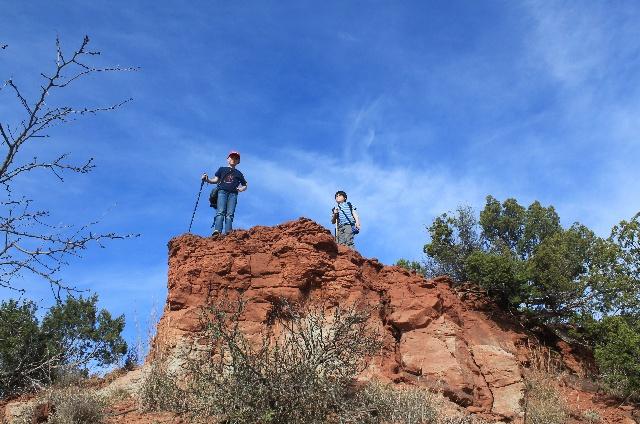Copper Breaks State Park - climbing rock