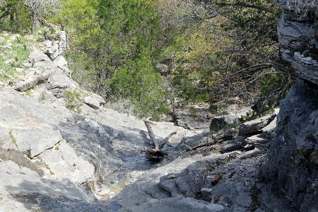 Colorado Bend: big basin by Dogleg Canyon rim: Two Worlds Treasures