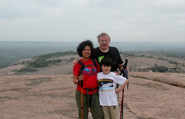 Enchanted Rock - at the summit - Two Worlds Treasures
