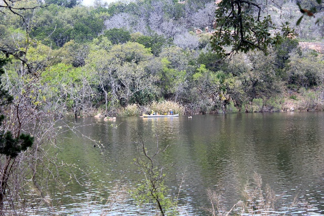 Fishing at Inks Lake State Park - Texas Hill Country - Two Worlds Treasures