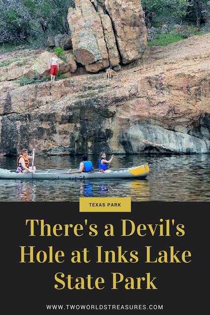 Devil's Hole at Inks Lake SP - Two Worlds Treasures