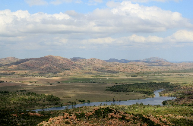 Wichita Mountains Wildlife Refuge: a scenic view from end of Elk Mountain Trail.