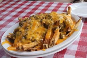 Cowgirl BBQ: Cheddar Chile Fries.