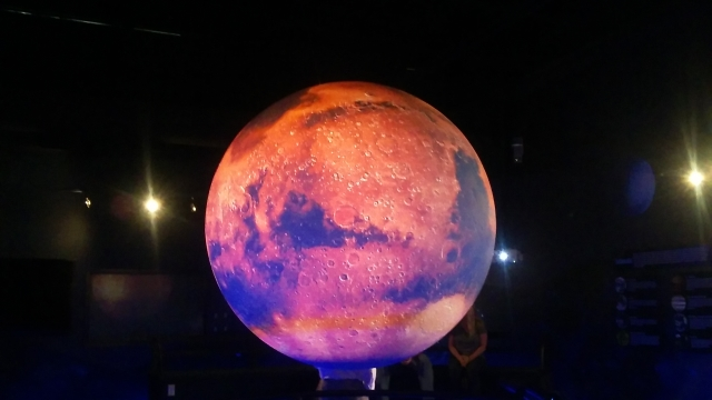 Space Foundation Discovery Center: the red planet.