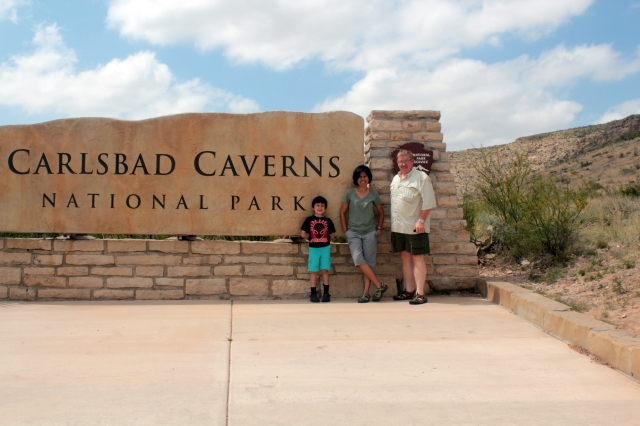 National Parks hopping - Carlsbad Caverns NP, New Mexico.