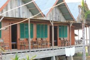 Two Worlds Treasures - new wing at Wae Rebo Lodge.